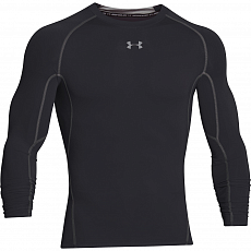 Футболка Men's UA HeatGear® Armour Long Sleeve Compression Shirt, black